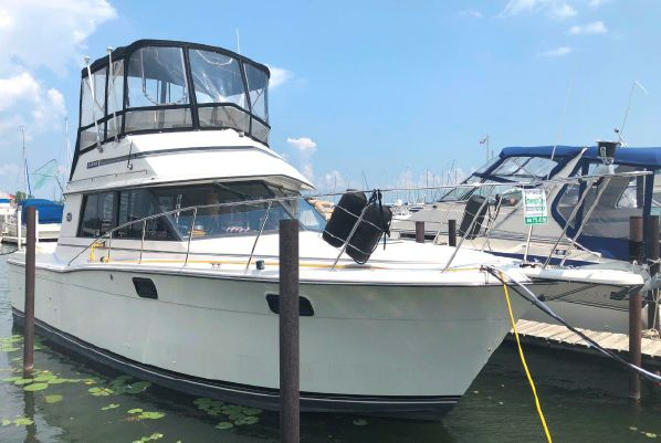32' Carver Convertible 1989