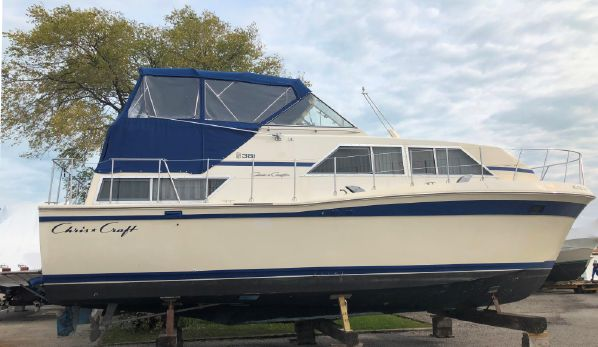 38 chris-craft catalina 1980